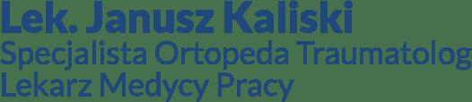 logo lekarza specjalisty Janusza Kaliskiego